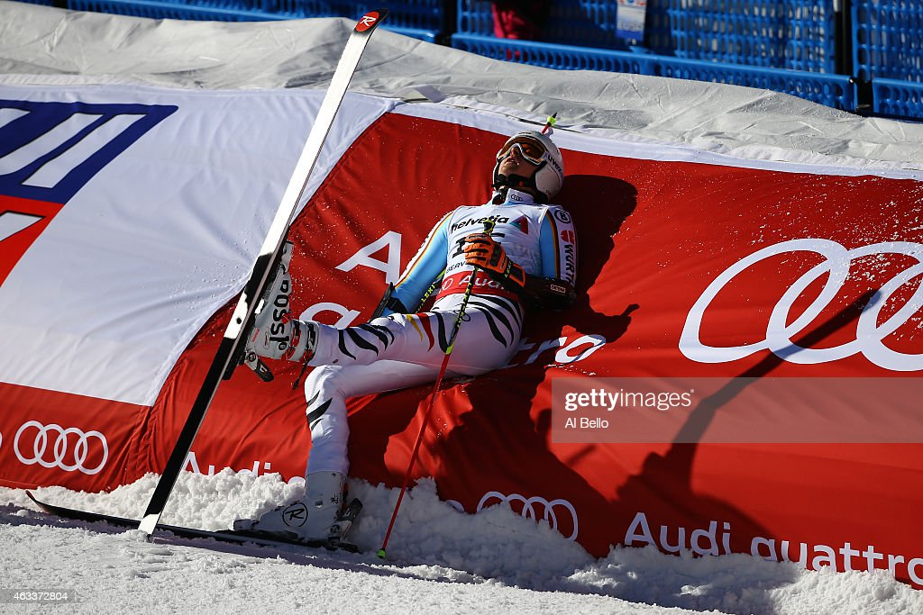 <a gi-track='captionPersonalityLinkClicked' href=/galleries/search?phrase=Stefan+Luitz&family=editorial&specificpeople=7286362 ng-click='$event.stopPropagation()'>Stefan Luitz</a> of Germany ends his second run during the Men's Giant Slalom on Day 12 of the 2015 FIS Alpine World Ski Championships on February 13, 2015 in Beaver Creek, Colorado.