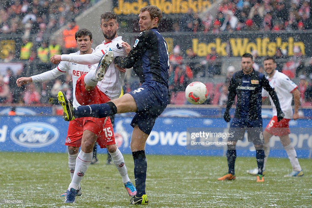 <a gi-track='captionPersonalityLinkClicked' href=/galleries/search?phrase=Stefan+Maierhofer&family=editorial&specificpeople=750774 ng-click='$event.stopPropagation()'>Stefan Maierhofer</a> of Cologne scores his team's second goal during the Second Bundesliga match between 1. FC Koeln and Union Berlin at RheinEnergieStadion on February 23, 2013 in Cologne, Germany.