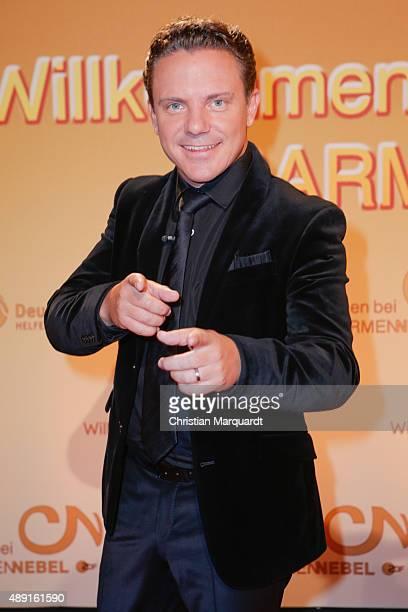 Stefan Mross attends the red carpet of the television show 'Willkommen bei Carmen Nebel' at Velodrom on September 19 2015 in Berlin Germany