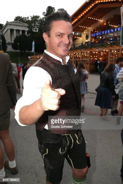 Stefan Mross during the 'Alpenherz Wies'n' as part of the Oktoberfest at Theresienwiese on September 19 2017 in Munich Germany
