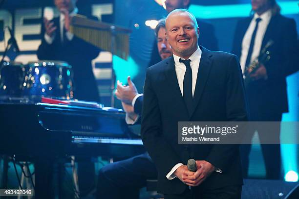 Stefan Raab attends the 19th Annual German Comedy Awards at Coloneum on October 20 2015 in Cologne Germany