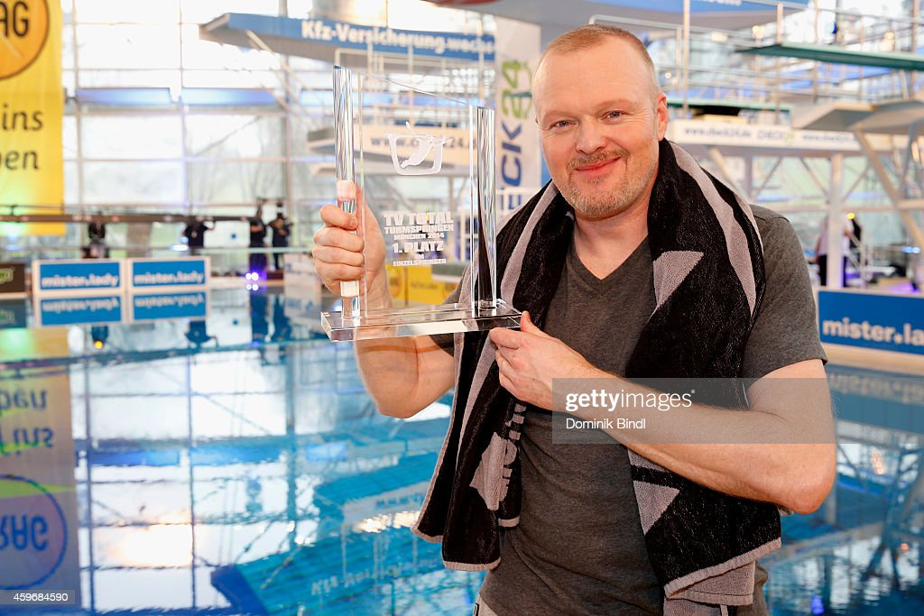 Stefan Raab attends the TV Total Turmpringen photocall on November 28, 2014 in Munich, Germany.