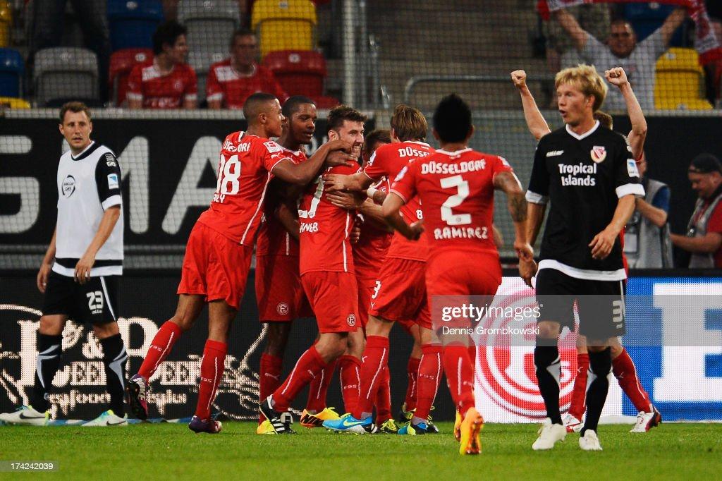 Fortuna Duesseldorf v Energie Cottbus - Second Bundesliga