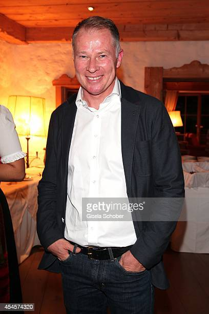 Stefan Reuter attends the Camp Beckenbauer After Golf Party at Hotel Stanglwirt on September 3 2014 in Going near Kitzbuehel Austria