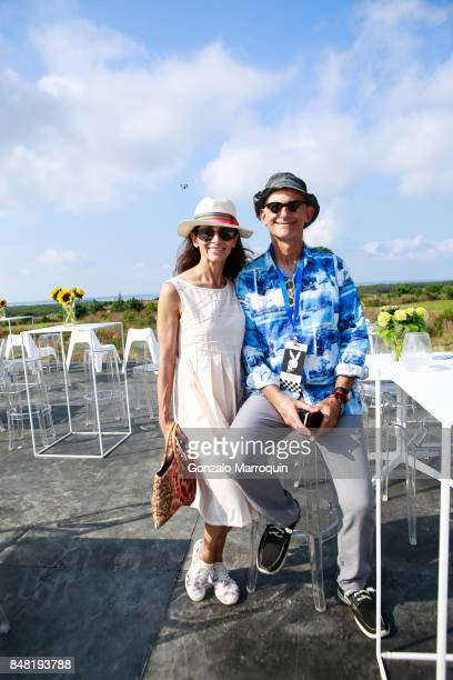 Stefan Samuel and Bob Rubin attend 'The Bridge' 2017 on September 16 2017 in Bridgehampton New York
