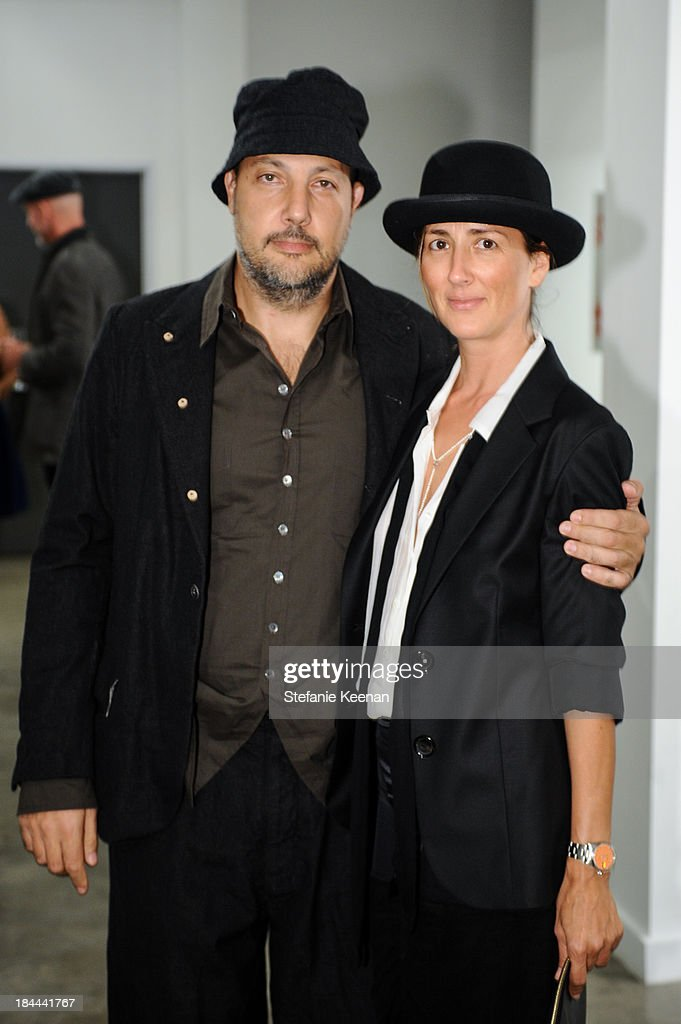 Stefan Simchowitz and Anna Getty attend The Mistake Room's Benefit Auction on October 13, 2013 in Los Angeles, California.