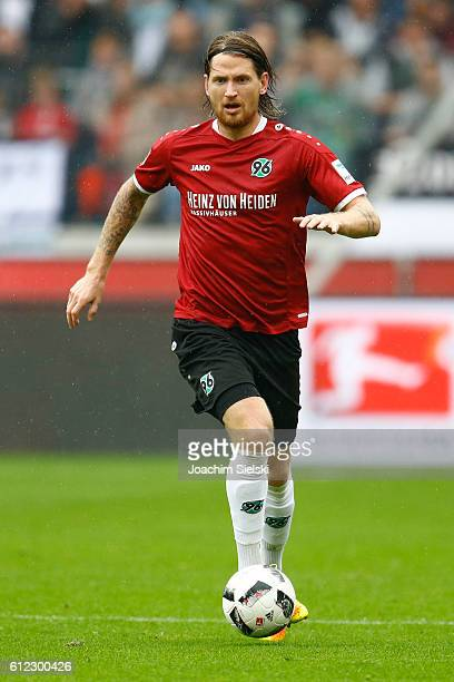 Stefan Strandberg of Hannover during the Second Bundesliga match between Hannover 96 and FC St Pauli at HDIArena on October 1 2016 in Hanover Germany