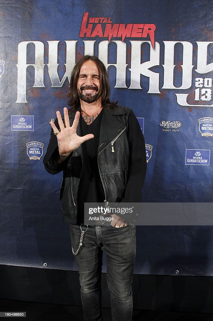 Stefan Weidner attends the Metal Hammer Awards 2013 at Kesselhaus on September 13, 2013 in Berlin, Germany.