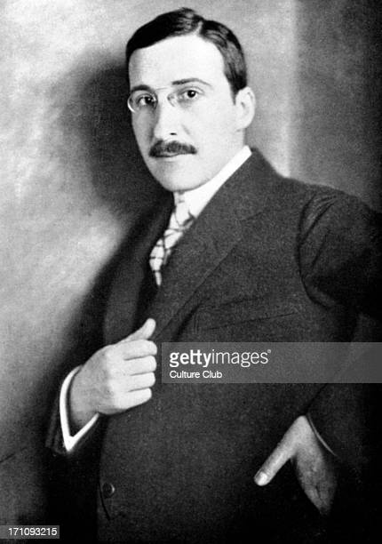 Stefan ZWEIG as a young man Austrian writer Committed suicide with his wife in Brazil 18811942