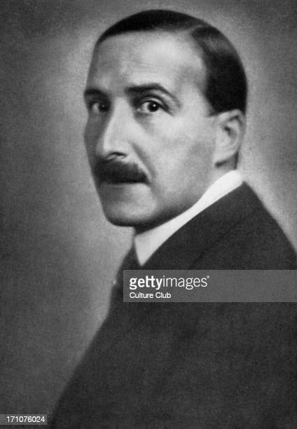 Stefan Zweig in 1940 Austrian novelist playwright journalist and biographer 28 November 1881 22 February 1942