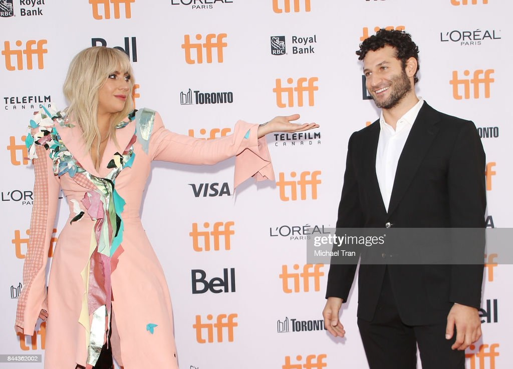 Stefani Joanne Angelina Germanotta aka Lady Gaga (L) and Chris Moukarbel arrive to the 'Gaga: Five Foot Two' premiere - 2017 TIFF - Premieres, Photo Calls and Press Conferences held on September 8, 2017 in Toronto, Canada.