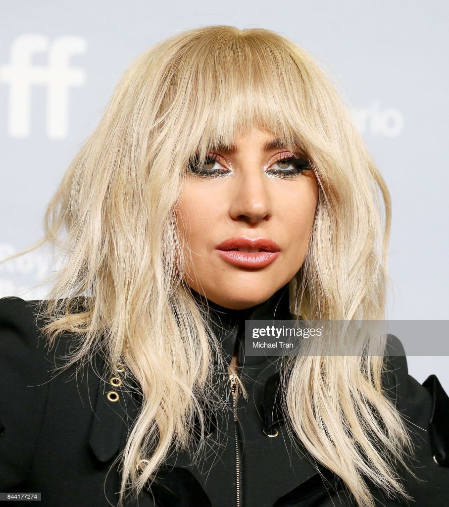 Stefani Joanne Angelina Germanotta aka Lady Gaga arrives to the 'Gaga: Five Foot Two' photo call - 2017 TIFF - Premieres, Photo Calls and Press Conferences held on September 8, 2017 in Toronto, Canada.