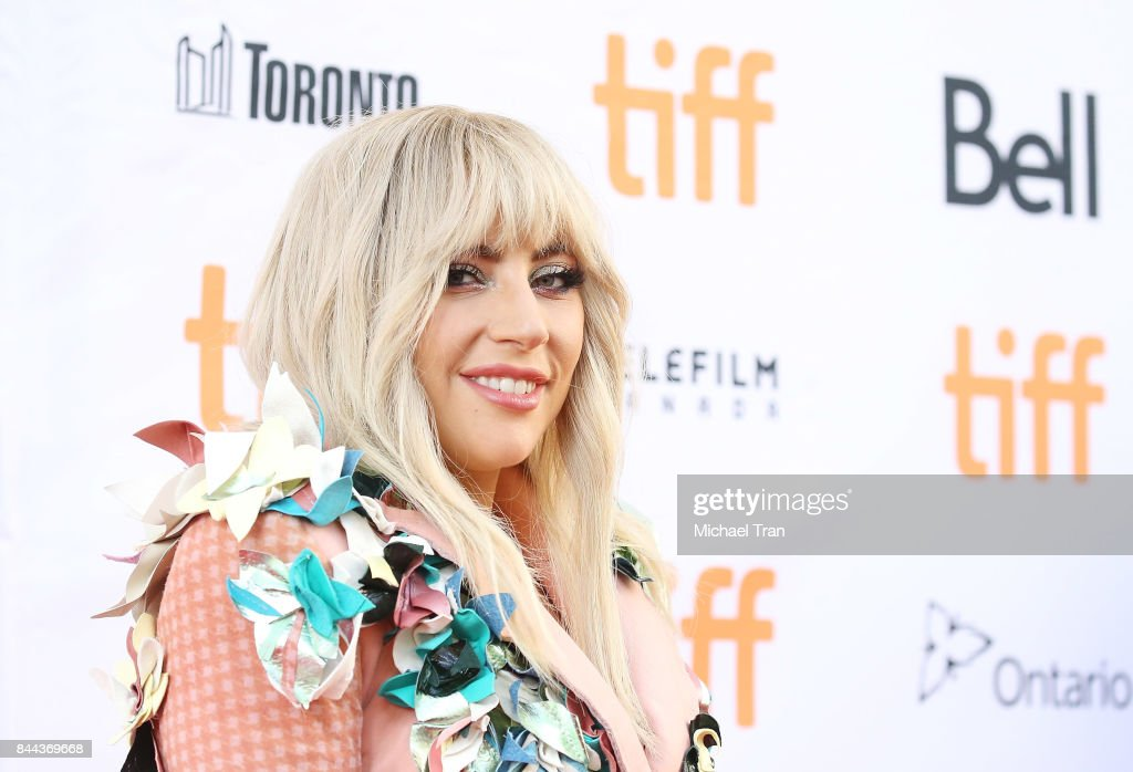 Stefani Joanne Angelina Germanotta aka Lady Gaga arrives to the 'Gaga: Five Foot Two' premiere - 2017 TIFF - Premieres, Photo Calls and Press Conferences held on September 8, 2017 in Toronto, Canada.