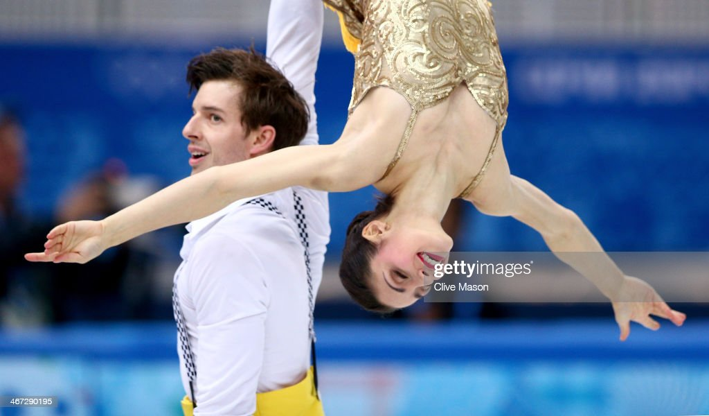<a gi-track='captionPersonalityLinkClicked' href=/galleries/search?phrase=Stefania+Berton&family=editorial&specificpeople=4841337 ng-click='$event.stopPropagation()'>Stefania Berton</a> and Ondrej Hotarek of Italy compete in the Figure Skating Pairs Short Program during the Sochi 2014 Winter Olympics at Iceberg Skating Palace on February 6, 2014 in Sochi, Russia.