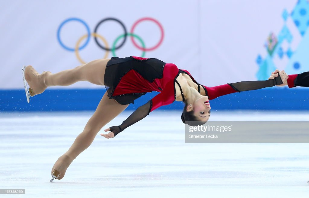 <a gi-track='captionPersonalityLinkClicked' href=/galleries/search?phrase=Stefania+Berton&family=editorial&specificpeople=4841337 ng-click='$event.stopPropagation()'>Stefania Berton</a> and Ondrej Hotarek of Italy compete in the Figure Skating Team Pairs Free Skating during day one of the Sochi 2014 Winter Olympics at Iceberg Skating Palace on February 8, 2014 in Sochi, Russia.