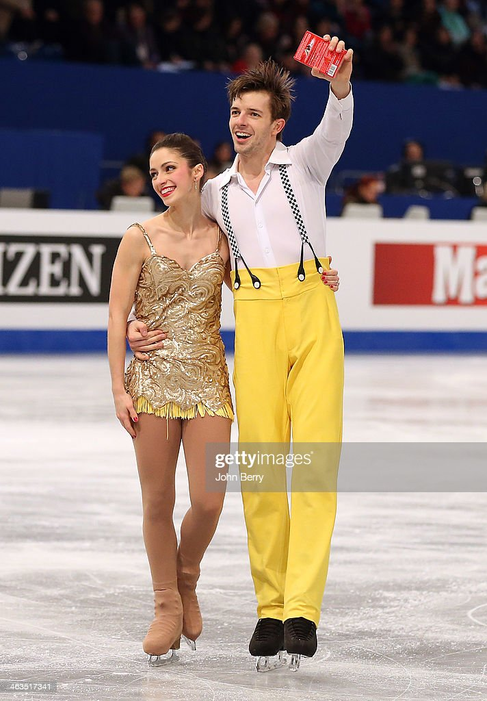 <a gi-track='captionPersonalityLinkClicked' href=/galleries/search?phrase=Stefania+Berton&family=editorial&specificpeople=4841337 ng-click='$event.stopPropagation()'>Stefania Berton</a> and Ondrej Hotarek of Italy compete in the Pairs Short Program of the ISU European Figure Skating Championships 2014 held at the Syma Hall stadium on January 17, 2014 in Budapest, Hungary.