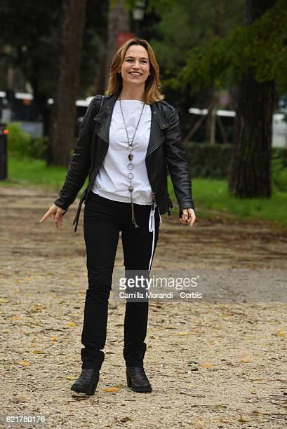 Stefania Montorsi attends a photocall for 'La Ragazza Del Mondo' on November 8 2016 in Rome Italy