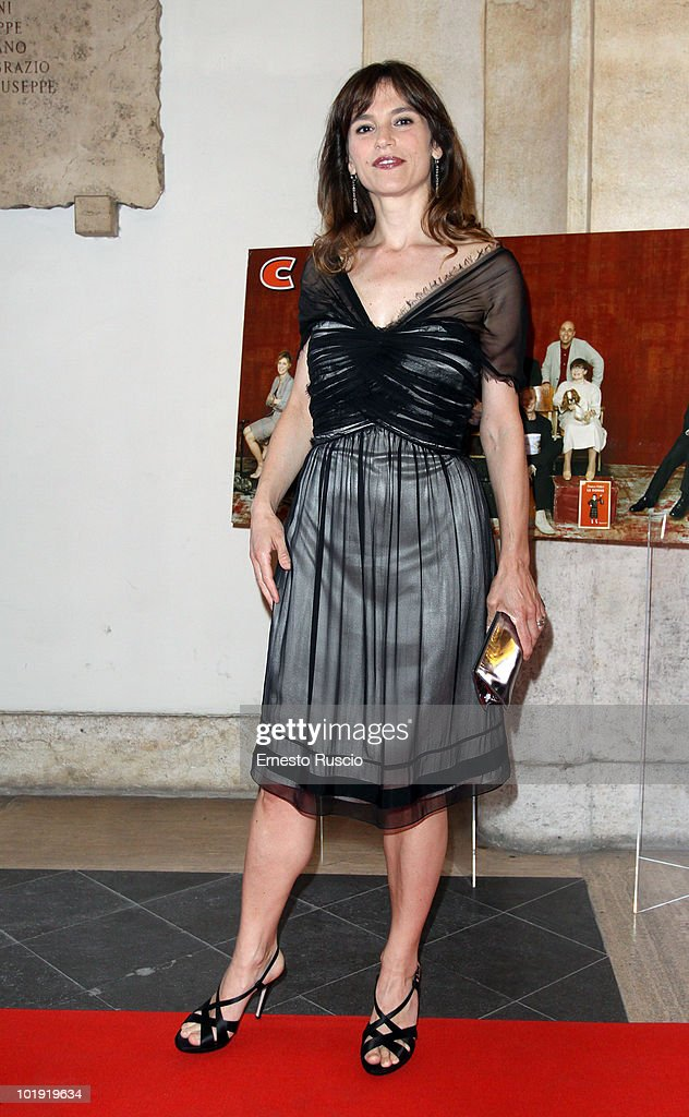 Stefania Montorsi attends the 'Ciak D'Oro' awards ceremony at Palazzo Valentini on June 8, 2010 in Rome, Italy.