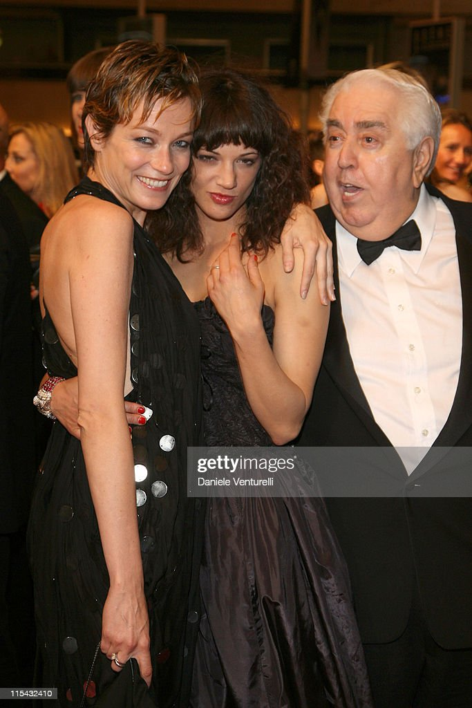 Stefania Rocca and Asia Argento during 2007 Cannes Film Festival 'Go Go Tales' Premiere After Party at Hilton in Cannes France