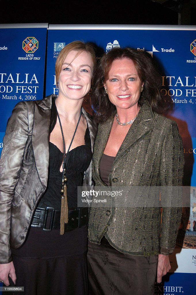 Stefania Rocca and Jacqueline Bisset during The 2006 Italian Film Fashion and Food Fest Opening Night in Los Angeles California United States