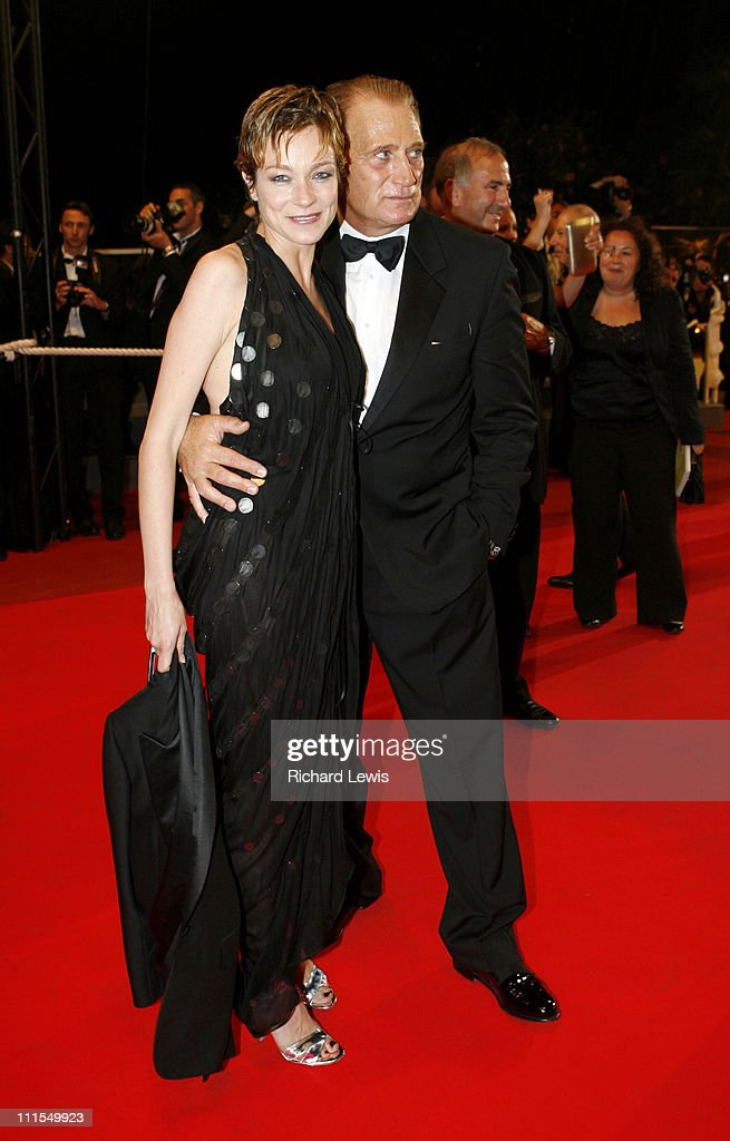 Stefania Rocca and Joe Cortese during 2007 Cannes Film Festival 'Go Go Tales' Premiere at Palais des Festivals in Cannes France