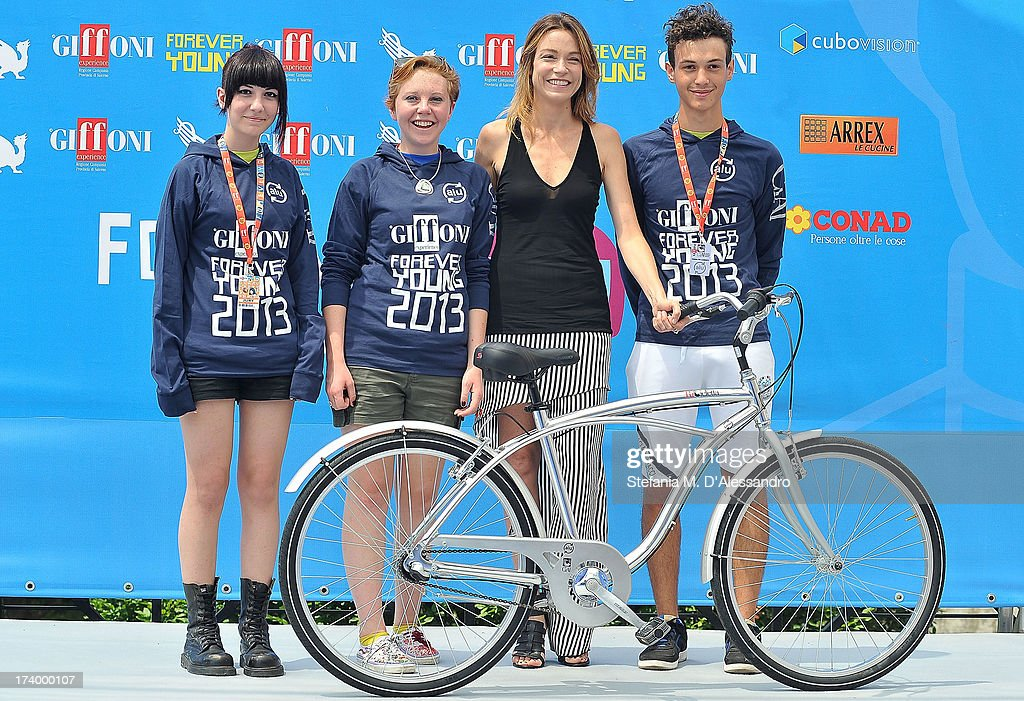 Stefania Rocca and the jurors attend 2013 Giffoni Film Festival photocall on July 19, 2013 in Giffoni Valle Piana, Italy.