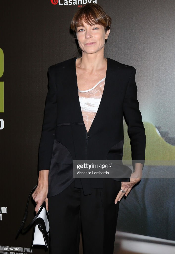<a gi-track='captionPersonalityLinkClicked' href=/galleries/search?phrase=Stefania+Rocca&family=editorial&specificpeople=676329 ng-click='$event.stopPropagation()'>Stefania Rocca</a> attends the preview of film 'Adriano Olivetti. La forza di un sogno' on October 16, 2013 in Milan, Italy.