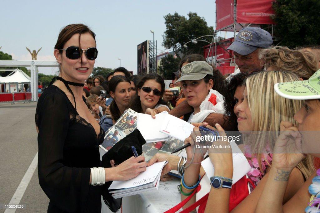 Stefania Rocca during 2005 Venice Film Festival 'Mary' Premiere at Venice Lido in Venice Italy