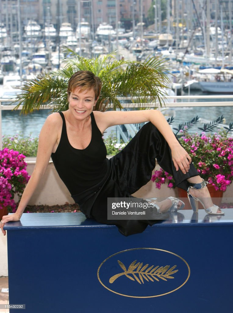 Stefania Rocca during 2007 Cannes Film Festival 'Go Go Tales' Photocall at Palais des Festivals in Cannes France