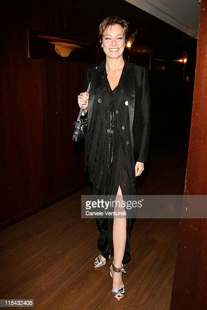 Stefania Rocca during 2007 Cannes Film Festival 'Go Go Tales' Premiere After Party at Hilton in Cannes France