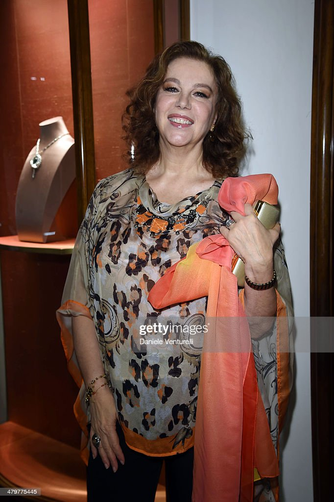 <a gi-track='captionPersonalityLinkClicked' href=/galleries/search?phrase=Stefania+Sandrelli&family=editorial&specificpeople=830233 ng-click='$event.stopPropagation()'>Stefania Sandrelli</a> attends 'Bvlgari Celebrates 130 Years In Rome' at Via Condotti on March 20, 2014 in Rome, Italy.