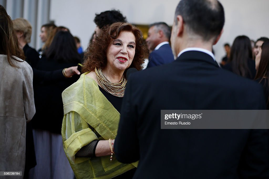 Stefania Sandrelli attends the Nastri D'Argento 2016 Award Nominations at Maxxi Museum on May 31, 2016 in Rome, Italy.