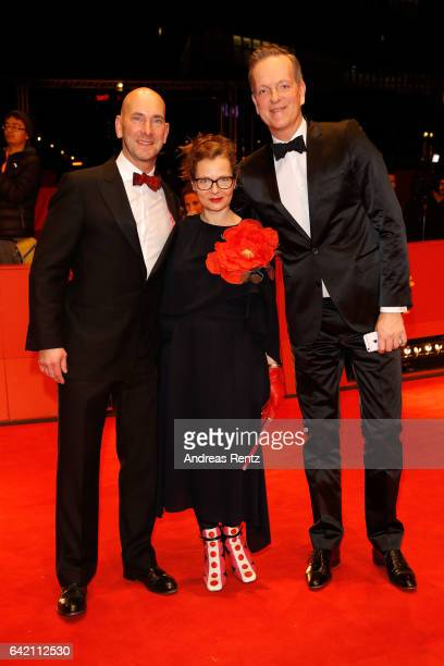 Stefanie Bruhn attends the 'The Shining Hommage Milena Canonero' premiere during the 67th Berlinale International Film Festival Berlin at Berlinale...