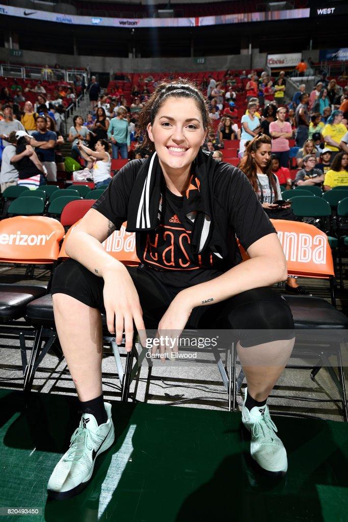 WNBA All-Star Practice and Media Availability