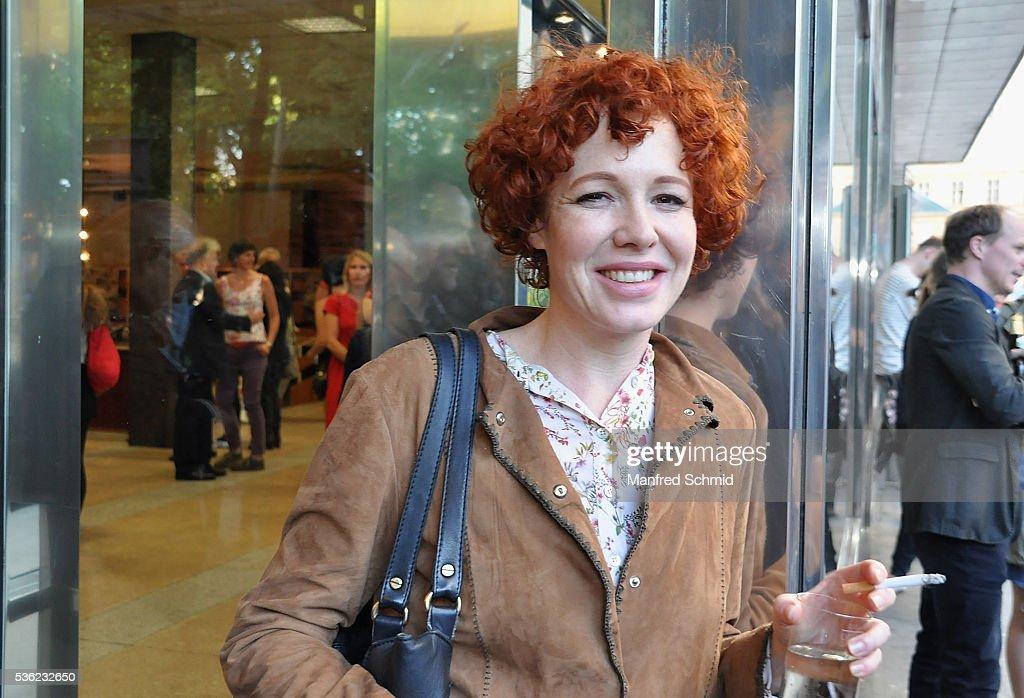 Stefanie Dvorak attends the 'Vor der Morgenroete' Vienna Premiere at Gartenbau Kino Vienna on May 31, 2016 in Vienna, Austria.