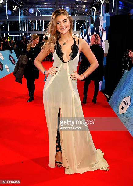 Stefanie Giesinger attends the MTV Europe Music Awards 2016 on November 6 2016 in Rotterdam Netherlands
