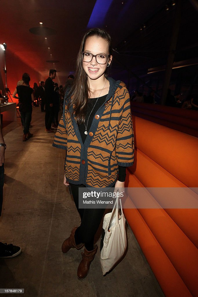 Stefanie Heinzmann attends the '1Live Krone' at Jahrhunderthalle on December 6, 2012 in Bochum, Germany.