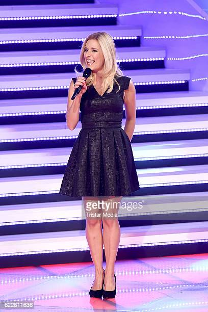 Stefanie Hertel during the 'Die Schlager des Jahres' on November 11 2016 in Suhl Germany