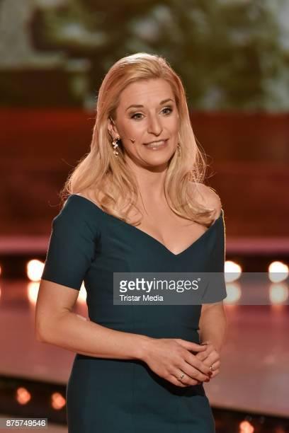 Stefanie Hertel during the Stefanie Hertel Show 'Die grosse Show der Weihnachtslieder' on November 17 2017 in Suhl Germany