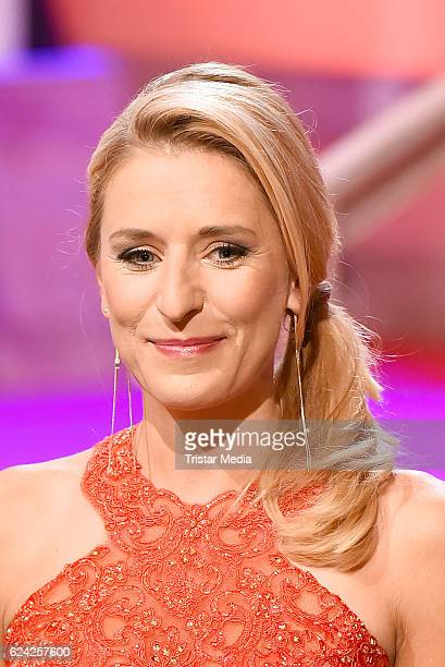 Stefanie Hertel Presents 'Die grosse Show der Weihnachtslieder' on November 18 2016 in Suhl Germany