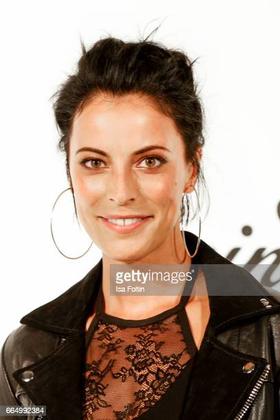 Stefanie Kloss singer of the band 'Silbermond' during the 'Sing meinen Song' photo call on April 5 2017 in Berlin Germany