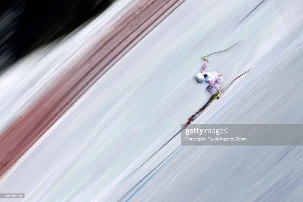 <a gi-track='captionPersonalityLinkClicked' href=/galleries/search?phrase=Stefanie+Koehle&family=editorial&specificpeople=5589543 ng-click='$event.stopPropagation()'>Stefanie Koehle</a> of Austria competes during the Audi FIS Alpine Ski World Cup Women's Downhill Training on February 24, 2012 in Bansko, Bulgaria.