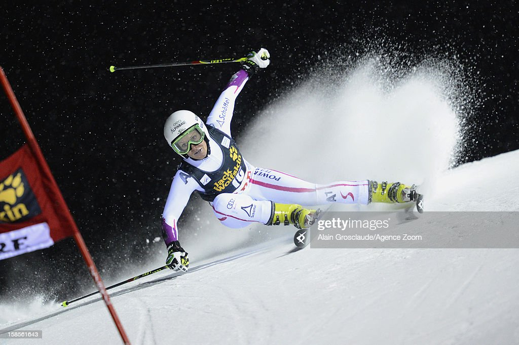 <a gi-track='captionPersonalityLinkClicked' href=/galleries/search?phrase=Stefanie+Koehle&family=editorial&specificpeople=5589543 ng-click='$event.stopPropagation()'>Stefanie Koehle</a> of Austria competes during the Audi FIS Alpine Ski nceWorld Cup Women's Giant Slalom on December 19, 2012 in Are, Sweden.
