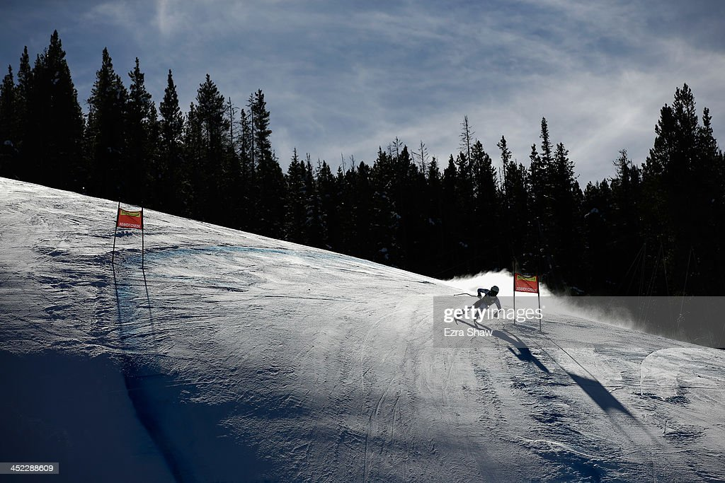 <a gi-track='captionPersonalityLinkClicked' href=/galleries/search?phrase=Stefanie+Koehle&family=editorial&specificpeople=5589543 ng-click='$event.stopPropagation()'>Stefanie Koehle</a> of Austria in action during day 2 of training on Raptor for the FIS Beaver Creek Ladies Downhill World Cup on November 27, 2013 in Beaver Creek, Colorado.