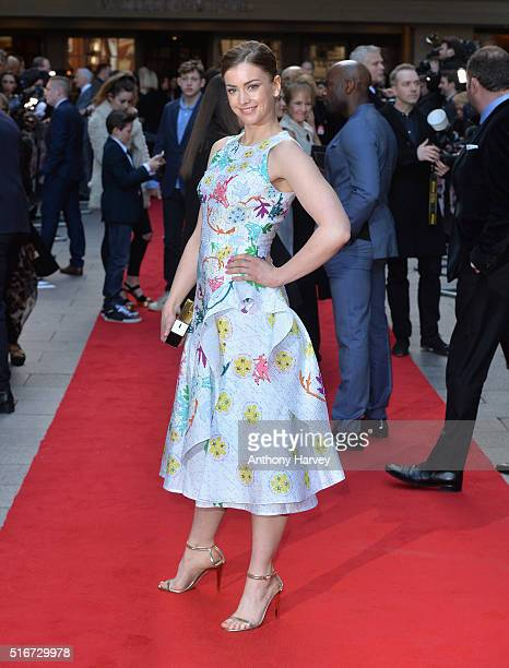 Stefanie Martini attends the Jameson Empire Awards 2016 at The Grosvenor House Hotel on March 20 2016 in London England