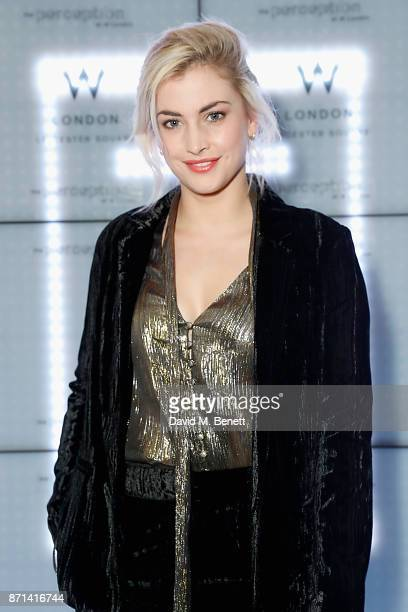 Stefanie Martini attends the official launch of The Perception at The W Hotel on November 7 2017 in London England