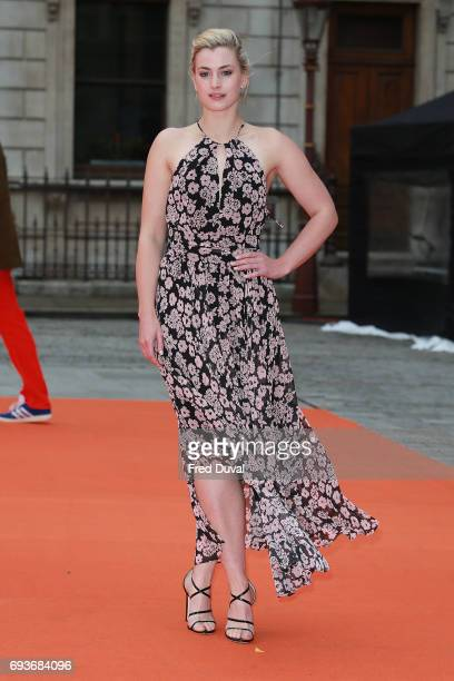 Stefanie Martini attends the preview party for the Royal Academy Summer Exhibition at Royal Academy of Arts on June 7 2017 in London England