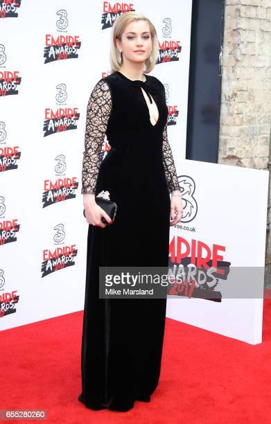 Stefanie Martini attends the THREE Empire awards at The Roundhouse on March 19 2017 in London England