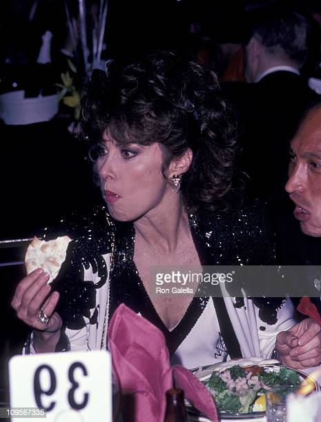 Stefanie Powers and Bobby To during 39th Annual Tony Awards Party at Grand Hyatt Hotel in New York City New York United States