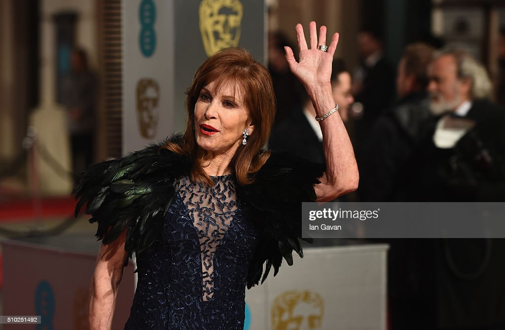 <a gi-track='captionPersonalityLinkClicked' href=/galleries/search?phrase=Stefanie+Powers&family=editorial&specificpeople=632257 ng-click='$event.stopPropagation()'>Stefanie Powers</a> attends the EE British Academy Film Awards at the Royal Opera House on February 14, 2016 in London, England.